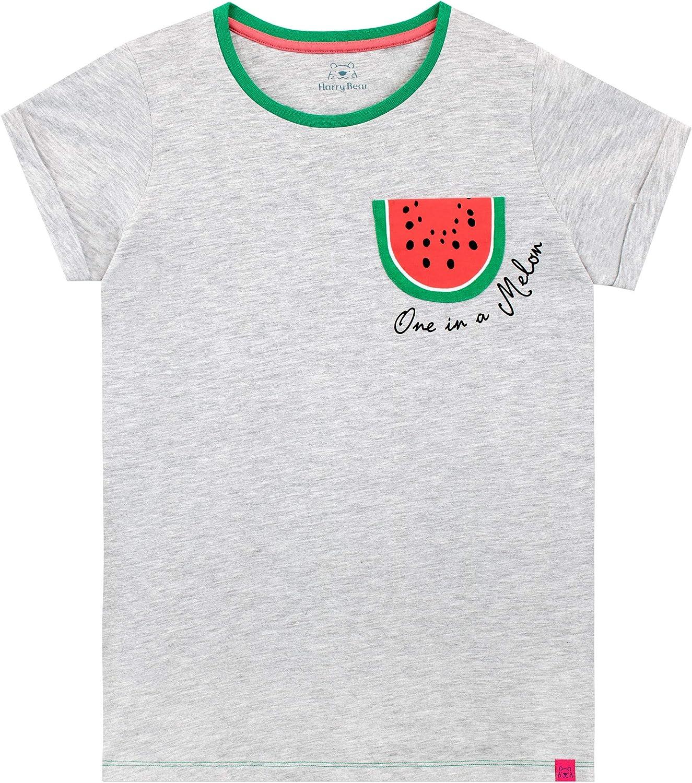 Harry Bear M/ädchen Tropische Wassermelone T-Shirt