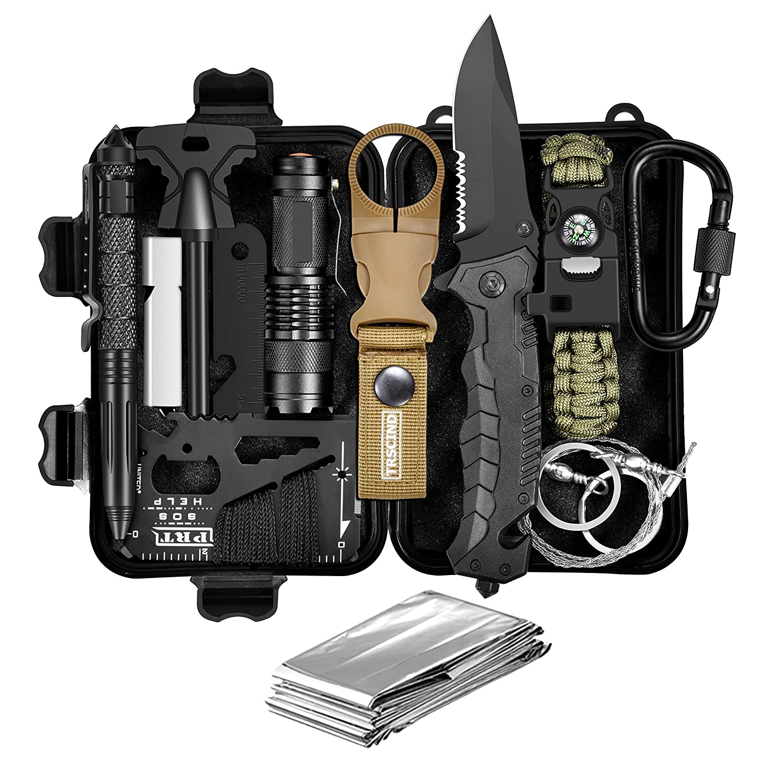 TRSCIND 11-in-1 Survival Kit