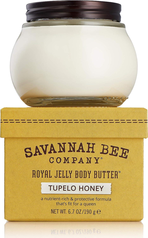Royal Jelly Body Butter TUPELO HONEY by Savannah Bee Company - 6.7 Ounce