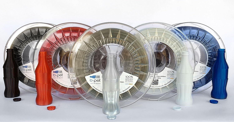 B-Pet - Filamento impresión 3D - PET 100% reciclado - 1Kg (1.75, Red Sun): Amazon.es: Industria, empresas y ciencia