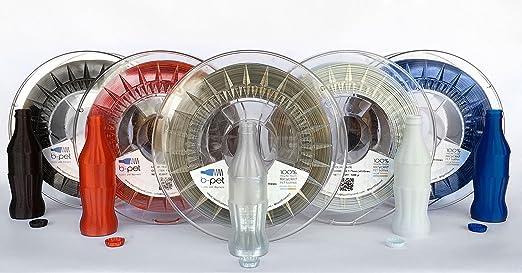 B-Pet - Filamento impresión 3D - PET 100% reciclado - 1Kg ...