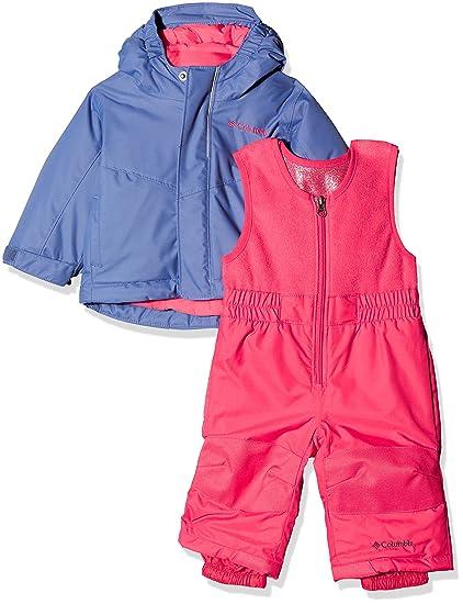 Columbia Buga Set Mono de esquí, Infantil, Morado (Eve/Punch Pink)