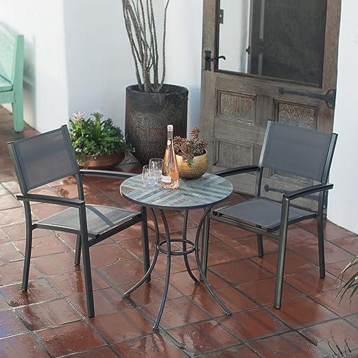 Patio Bistro – Juego de 3 piezas Con Capacidad Para 2. Sling silla ...