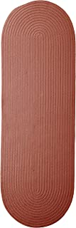 product image for Colonial Mills Boca Raton Runner Rug, 2x9, Terracotta