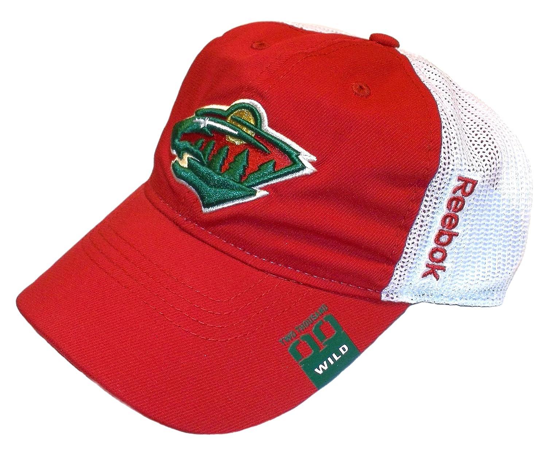 best sneakers e5547 6c8b5 Amazon.com   Minnesota Wild Jackets Slouch Flex Fit Reebok Hat - L XL -  EY72Z   Sports   Outdoors