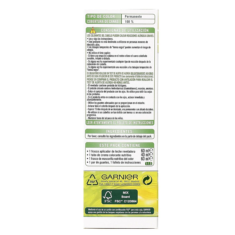 Garnier Nutrisse Creme Coloración permanente con mascarilla nutritiva de cuatro aceites - Tono: Chocolate 5.35: Amazon.es: Belleza