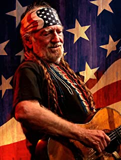 883a6d5c5f342 Artist Peter Nowell 16x20 Canvas Willie Nelson Reprint Outlaw Oil Painting  S N Limited Edition