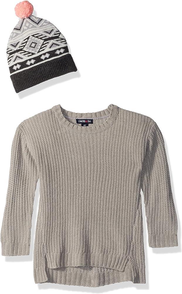 Amazon.com: Limited demasiado bebé Pullover Suéter de niñas ...