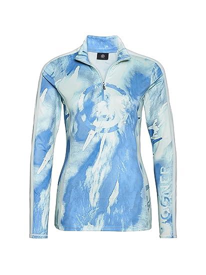 new arrival sale uk new style Bogner Women's Milly Baselayer Blue Medium at Amazon Women's ...