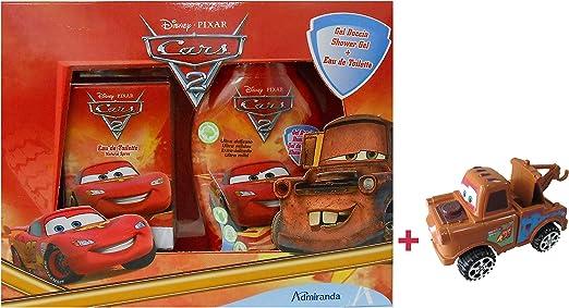 Estuche de Cars, de Disney – Agua de tocador (50 ml) y gel de ducha (250 ml), incluye 1 juguete: Amazon.es: Belleza