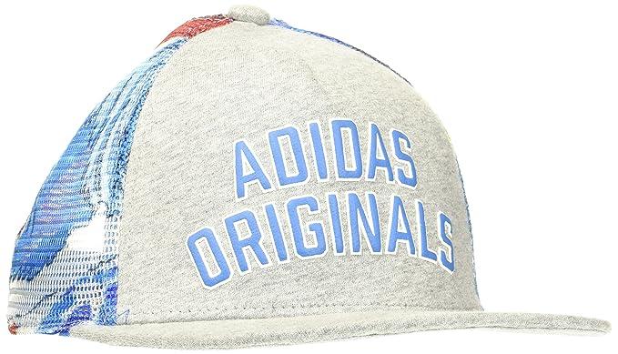 adidas CAP Gorra, Hombre, Gris-(Brgrin/Multco), FR :