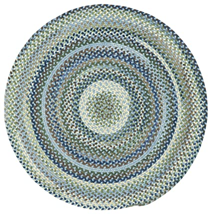Amazon Com Capel Rugs Manchester 8 Ft Round Braided Area Rug
