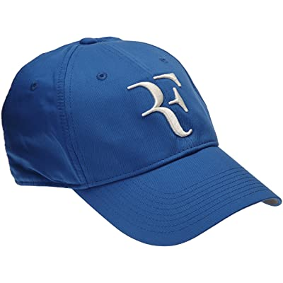 Mens Nike Premier RF Hybrid Adjustable Tennis Hat Game Royal Blue/Flint Grey 371202-480