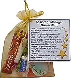 Assistant Manager Survival Kit Gift (New job, work gift, Secret santa gift for manager)