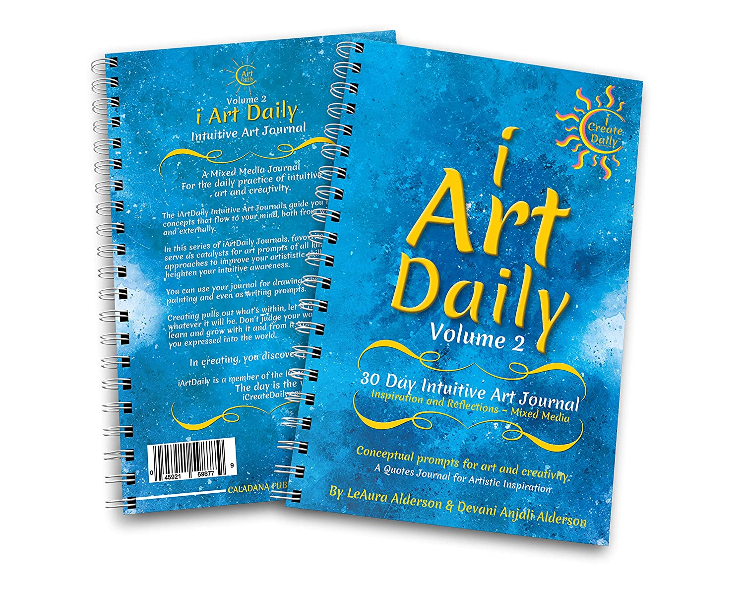 Amazon Iartdaily 30 Day Intuitive Art Journal Volume 2