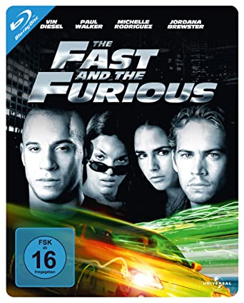 The Fast and the Furious - Steelbook [Alemania] [Blu-ray]