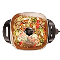 Deals on BELLA 12 x 12 inch Electric Skillet 1200 Watts 14607
