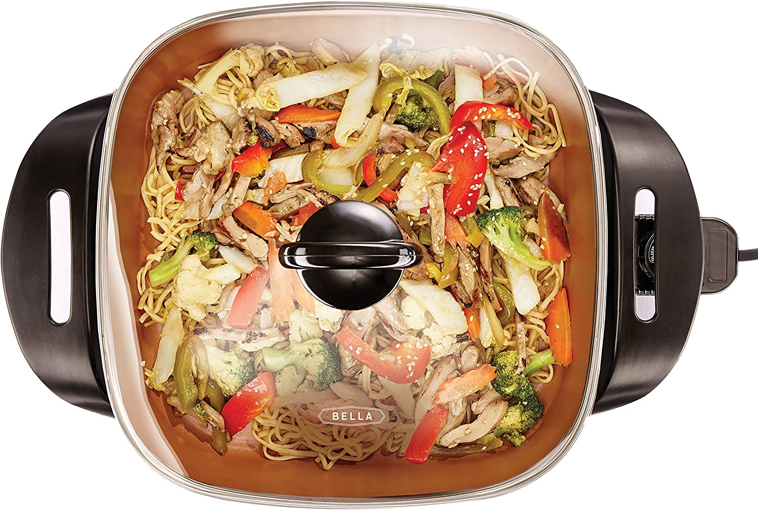 BELLA (14607) Electric Skillet, 12