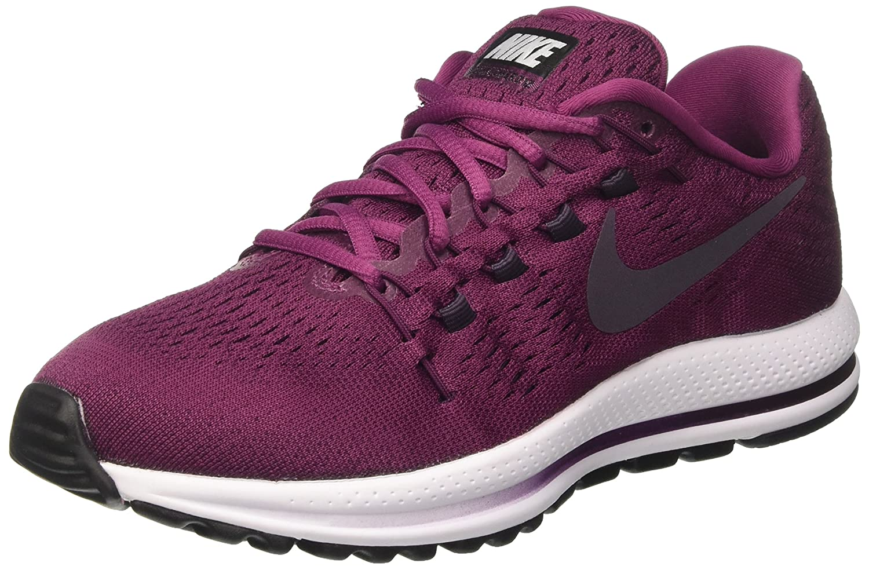 Nike Air Zoom Vomero 12, Zapatillas de Running Para Mujer 36.5 EU|Morado (Tea Berry/Port Wine/Bordeaux/White)