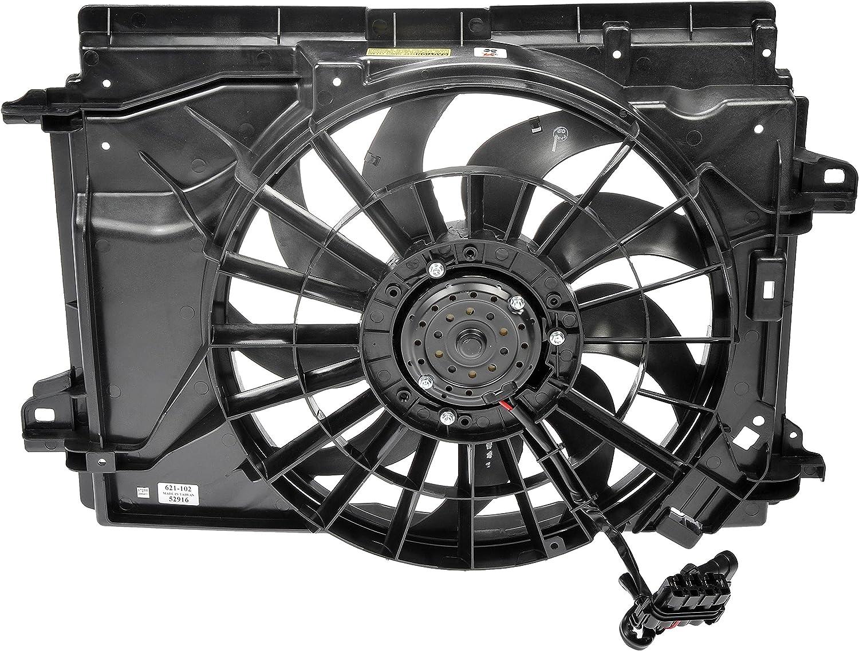 Radiator and Condenser Cooling Fan Assembly For 2005-2013 Chevrolet Corvette
