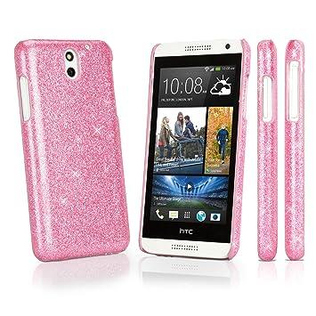HTC Desire 610 caso, BoxWave® [Glamour y Glitz caso] Slim ...