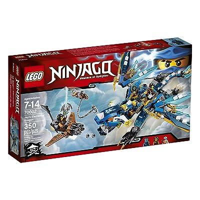 LEGO Ninjago Jayâ's Elemental Dragon 70602: Toys & Games