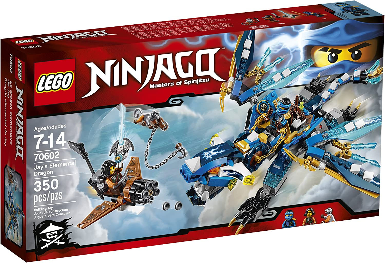 LEGO Ninjago Jayâ's Elemental Dragon 70602