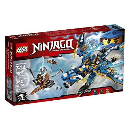 3d507ffbaad9b Amazon.com: LEGO Ninjago Jayâ's Elemental Dragon 70602: Toys & Games