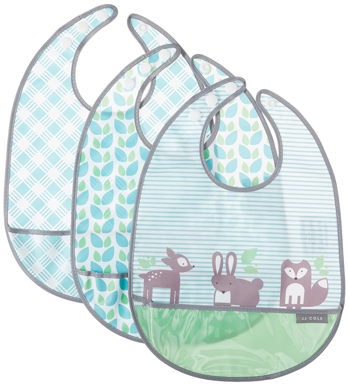 JJ Cole Bib Set, Forest/Fauna J00640