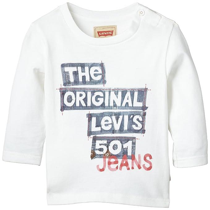f9201fbf9f Levis Kids Levi s® Tee-Shirt-Camiseta de manga larga Bebé-Niños ...