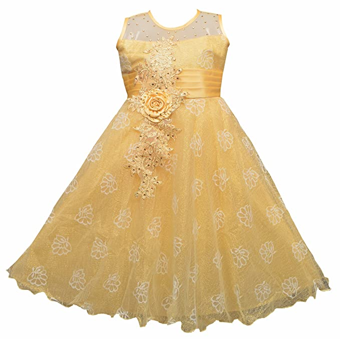 148033919 Twinkle Star Baby Girls Fairy Frock Dresses for Birthday Party & Festivals  Wear: Amazon.in: Clothing & Accessories