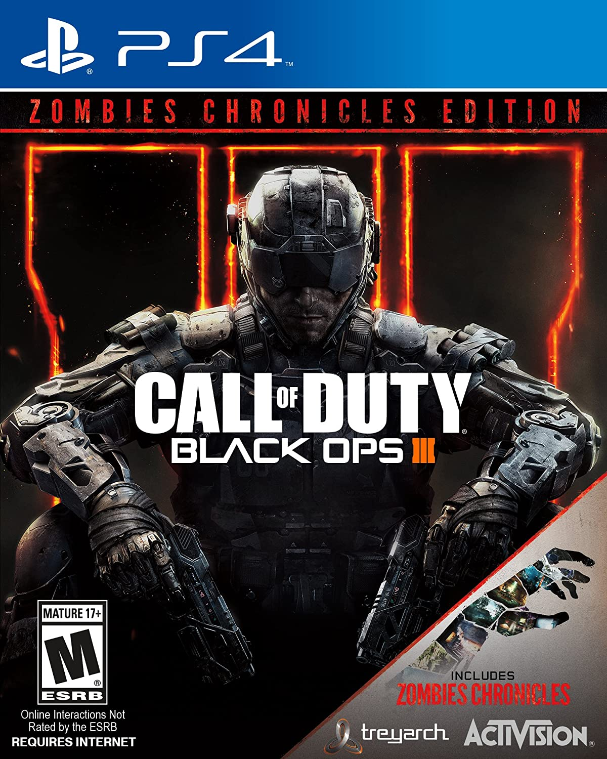 Amazon Com Call Of Duty Black Ops Iii Zombie Chronicles Playstation 4 Activision Inc Video Games