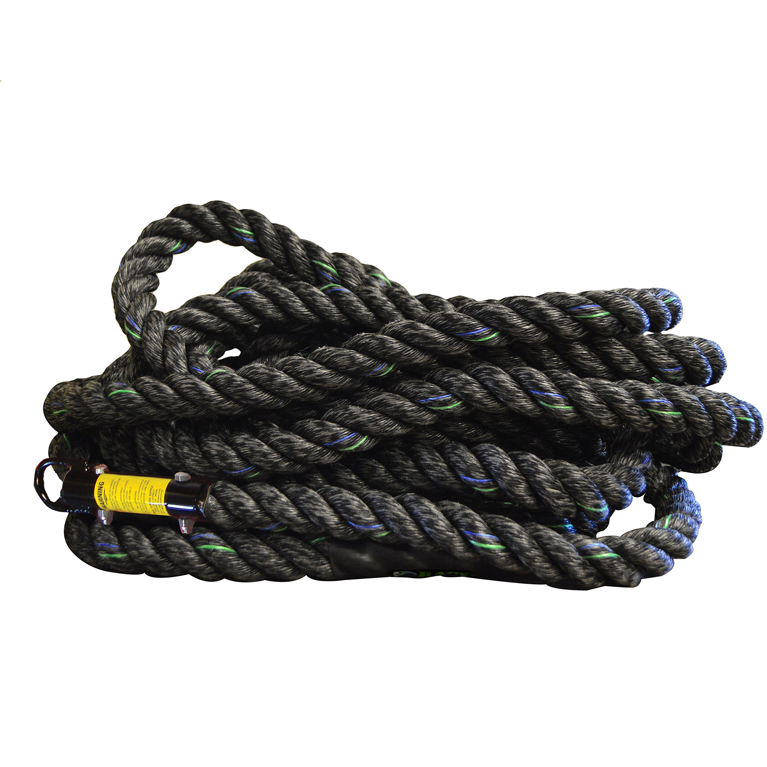 RAGE Fitness Poly Climbing Rope, 18' by Rage Fitness