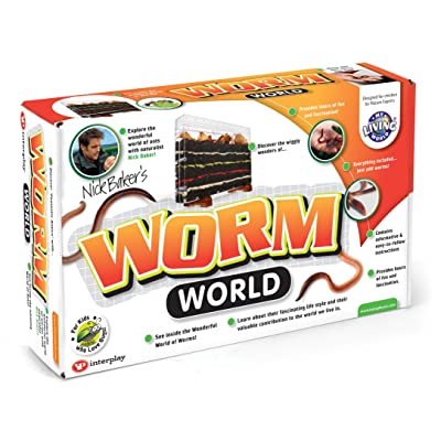 Interplay Wild Science Worm World: Toys & Games