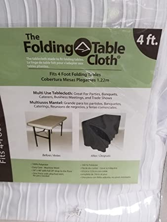 The folding table cloth