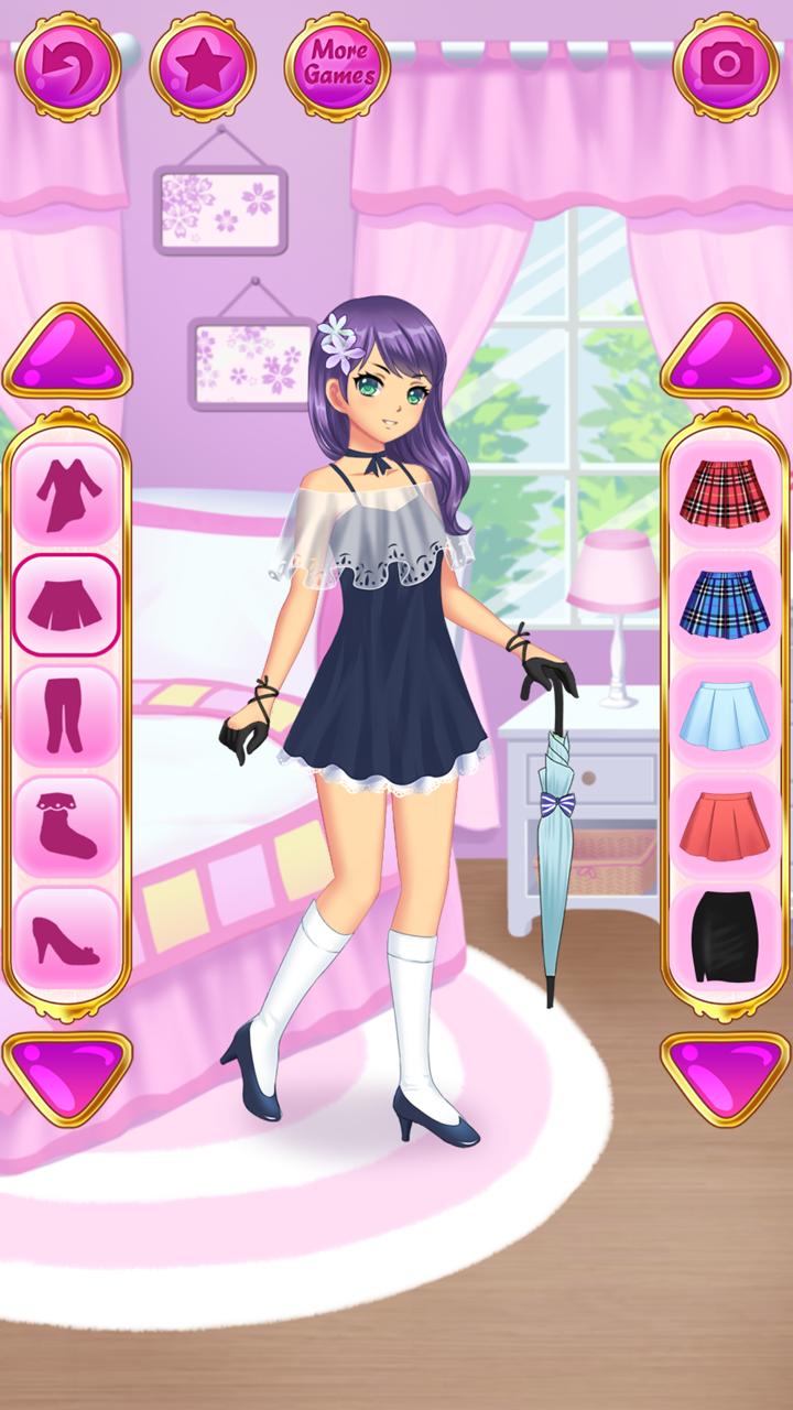 Anime Juegos de Vestir Chicas: Amazon.es: Appstore para