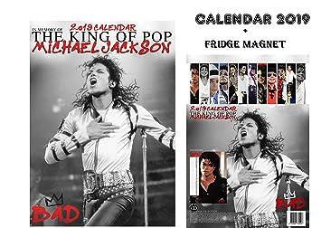 MICHAEL JACKSON CALENDAR 2019 + MICHAEL JACKSON FRIDGE