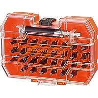 Black+Decker A7228-XJ A7228-XJ-Juego de 31 Piezas para Atornillar