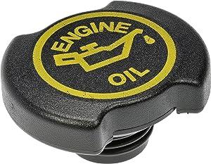 Dorman 90005 Engine Oil Filler Cap for Select Ford/Lincoln/Mercury Models, Black