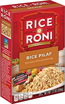12-Pack Rice a Roni Rice Pilaf Pasta and Rice Mix