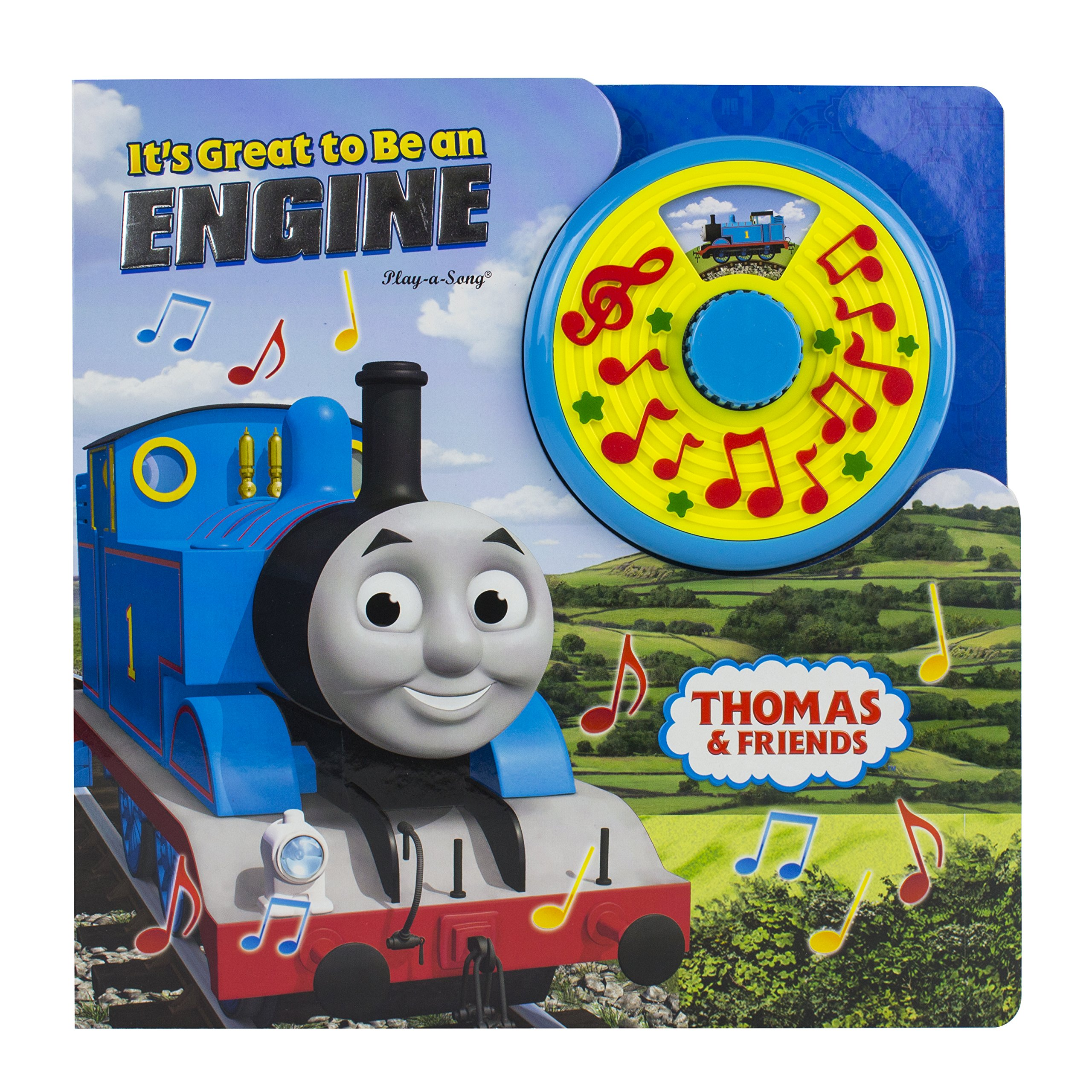 Thomas & Friends It's Great to Be An Engine Turn N Sing 97816503725737 ebook