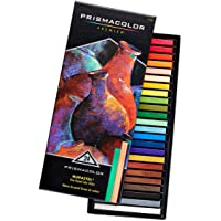 Prismacolor 24-Count 27049 Premier NuPastel Firm Pastel Color Sticks
