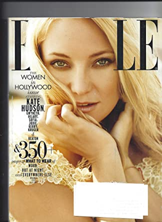 Elle Magazine November 2010 Kate Hudson at Amazons ...