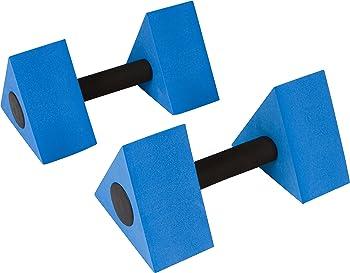 Trademark Innovations Triangular Aquatic Water Dumbells