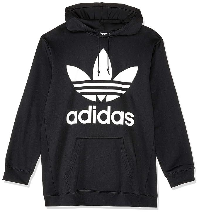 02e0f768714eb adidas Oversize Trefoil Sweat-Shirt à Capuche Femme  Amazon.fr  Sports et  Loisirs