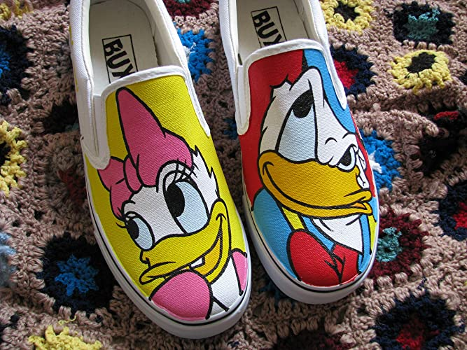 38b9f22b1bfb Amazon.com  Anime Hand Painted Shoes Sneakers Adult or Children Shoes  Custom Shoes FREE SHPPING  Handmade
