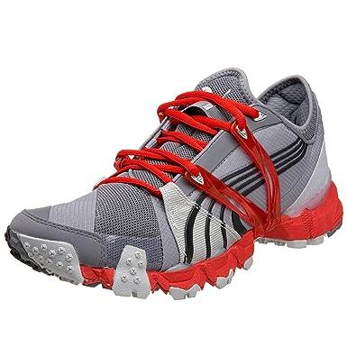 PUMA Men's Complete Trailfox III Running Shoe,Steel/Silver/Black/Red,