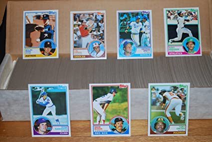 1983 Topps Baseball Complete Set 792 Cards Tony Gwynn Ryne Sandberg Wade Boggs Rookie Cards