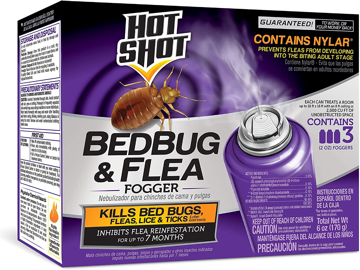 Fogger,Hot Shot 2oz 3Pk: Amazon.co.uk
