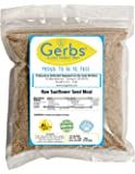 Ground Sunflower Seed Meal, 1 LB Bag - Food Allergy Safe & Non GMO -Vegan & Kosher - Full Oil Content Protein Powder - Product of United States
